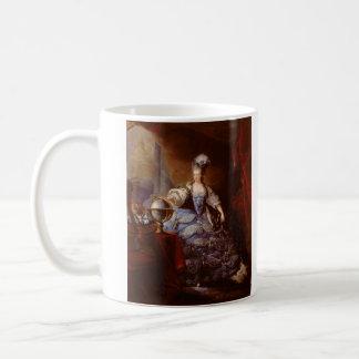 Marie Antoinett of Austria by Jean Baptiste Dagoty Coffee Mug