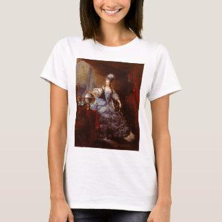 Marie Antoinett of Austria by Jean Baptiste Dagoty T-Shirt