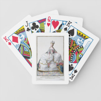 Marie Antoinette (1752-93) from 'Receuil des Estam Bicycle Playing Cards