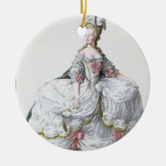 Marie Antoinette (1752-93) from 'Receuil des Estam Ceramic Ornament