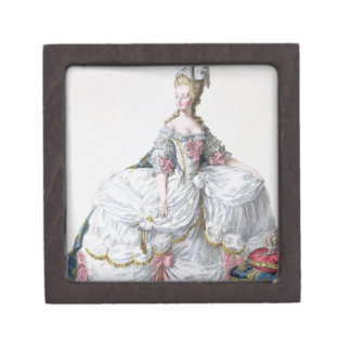 Marie Antoinette (1752-93) from 'Receuil des Estam Jewelry Box