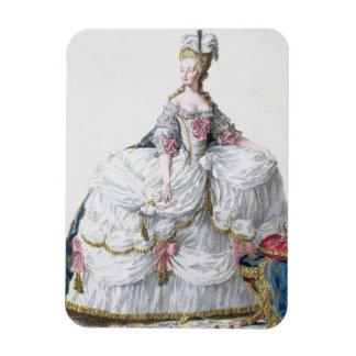 Marie Antoinette (1752-93) from 'Receuil des Estam Magnet
