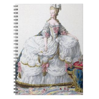 Marie Antoinette (1752-93) from 'Receuil des Estam Spiral Note Book
