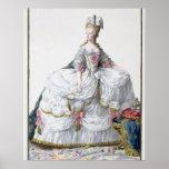 Marie Antoinette (1752-93) from 'Receuil des Estam Poster