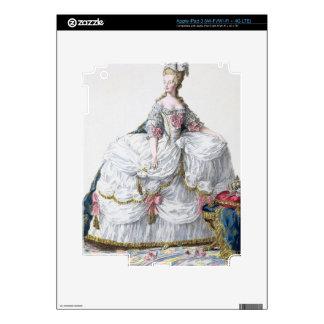 Marie Antoinette (1752-93) from 'Receuil des Estam iPad 3 Decals