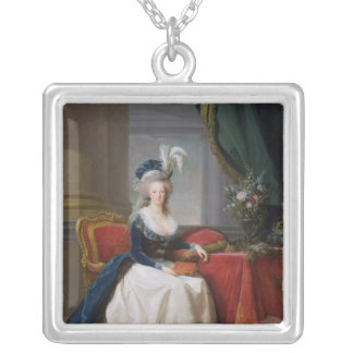 Marie-Antoinette  1788 Silver Plated Necklace
