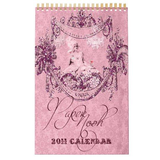 Marie Antoinette 2011 Calendar