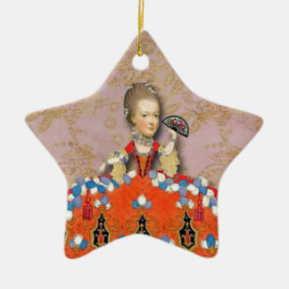 Marie Antoinette, A Day At Versilles, original art Christmas Tree Ornaments
