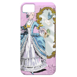 Marie Antoinette and Bluebird iPhone SE/5/5s Case