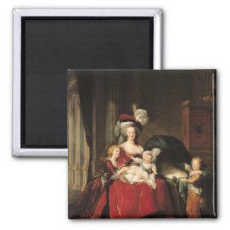 Marie-Antoinette  and her Children, 1787 Magnet