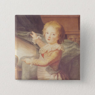 Marie-Antoinette and her Children Button