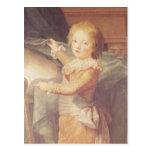 Marie-Antoinette and her Children Post Card