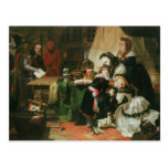 Marie Antoinette and her children Postcard