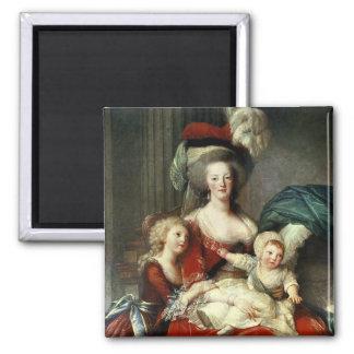 Marie-Antoinette  and her Four Children, 1787 Magnet