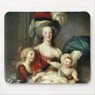 Marie-Antoinette  and her Four Children, 1787 Mouse Pad