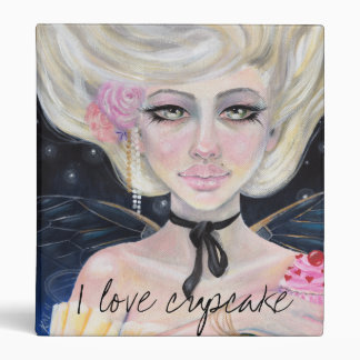 Marie Antoinette and the cherry topped cupcake Binder