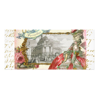 Marie Antoinette at Chateau Versailles Rack Card
