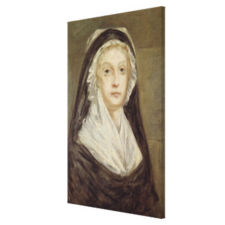 Marie Antoinette  at the Conciergerie Stretched Canvas Prints