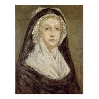 Marie Antoinette  at the Conciergerie Postcard