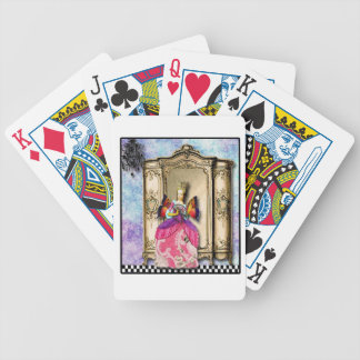 Marie Antoinette At The Palace,  deck of cards