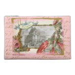 Marie Antoinette at Versailles Collage Art Bagette Travel Accessory Bags
