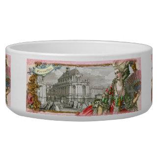 Marie Antoinette at Versailles Custom Pet Bowl