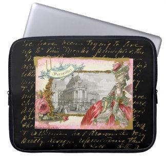 Marie Antoinette at Versailles Laptop Sleeve