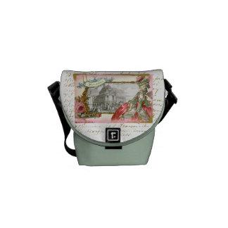 Marie Antoinette at Versailles Messenger Messenger Bag