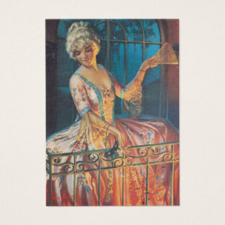 Marie Antoinette Balcony Painting Business Card