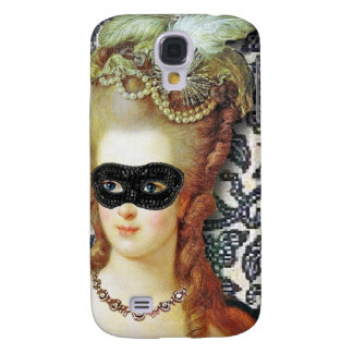 Marie Antoinette Behind The Mask, original art Galaxy S4 Cases