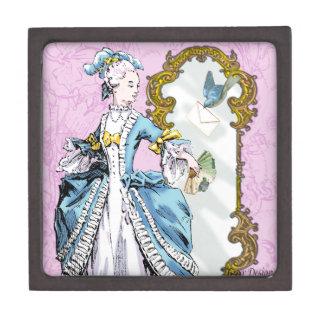 Marie Antoinette & Bluebird Keepsake Box