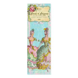 MARIE ANTOINETTE Boutiques Skinny Profile CARDS Double-Sided Mini Business Cards (Pack Of 20)