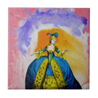 Marie Antoinette by Michael Moffa Ceramic Tile