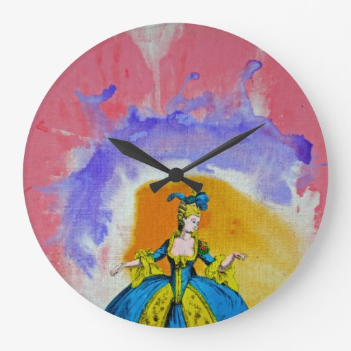 Marie Antoinette by Michael Moffa Wallclocks