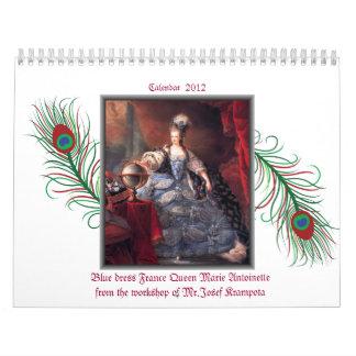 marie antoinette calendar