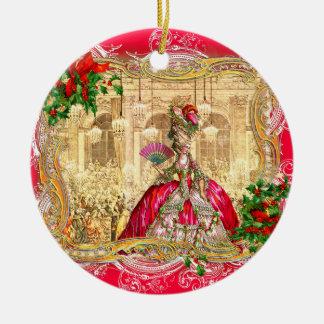 Marie Antoinette Christmas at Versailles Ornament