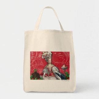 Marie Antoinette Christmas Desserts Custom Bag