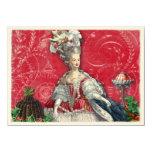 Marie Antoinette Christmas Desserts Invitation