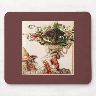 Marie Antoinette Christmas Mousepad