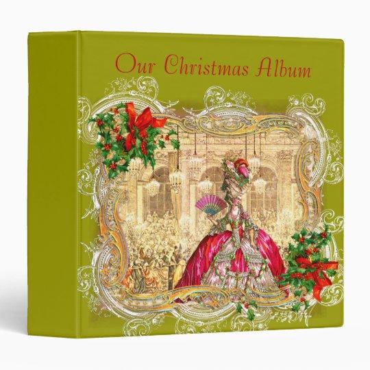 Marie Antoinette Christmas Photo Album Binder