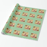 Marie Antoinette Christmas Wrapping Paper
