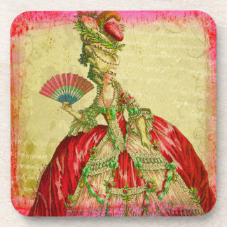 Marie Antoinette Coaster Set