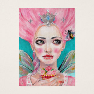 Marie Antoinette Cupcake Faerie - Queen Bee Business Card