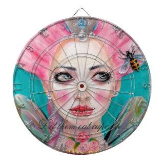Marie Antoinette Cupcake Faerie - Queen Bee Dartboard
