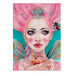 Marie Antoinette Cupcake Faerie - Queen Bee Large Business Cards (Pack Of 100)