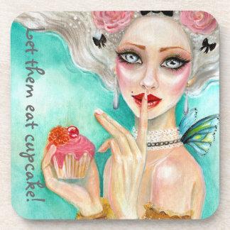 Marie Antoinette Cupcake Queen Coaster