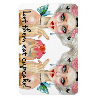 Marie Antoinette Cupcake Queen Magnet