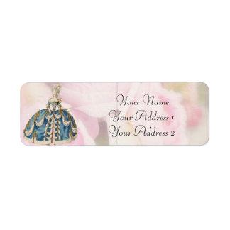 Marie Antoinette Custom Avery Address Labels
