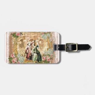 Marie Antoinette Dance Versailles in Pink Luggage Tag