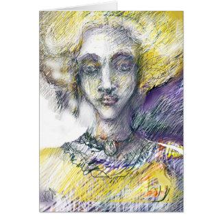 Marie - Antoinette de Bourgogne Greeting Card